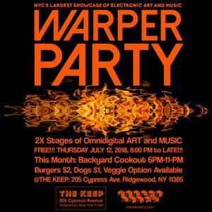 YANDL LIVE at WARPER PARTY JULY 12 2018