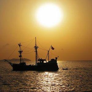 Gold Boat - Angel Cielo