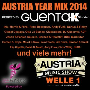 AUSTRIA YEAR MIX 2014  Remixed  by Guenta K  Powered by AUSTRIA MUSIC SHOW