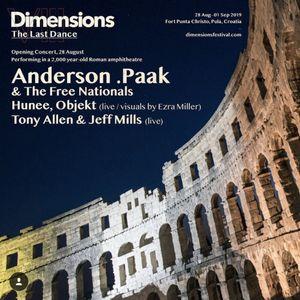 Najava: Dimensions - koncert otvaranja @ Arena Pula