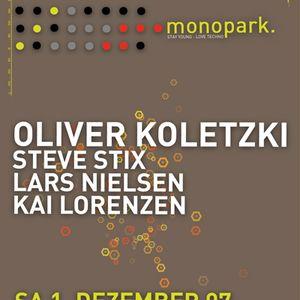 Steve Stix @ Monopark 03.12.2007