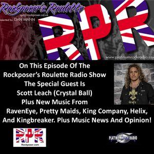 Dan Mann - Rockposer's Roulette Radio Show  with Scott Leach