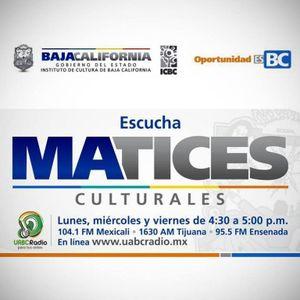 Matices Culturales 31/03/2017