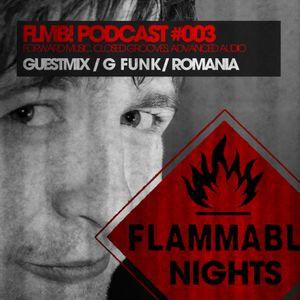 FLMB! PODCAST #003 / G FUNK / ROMANIA