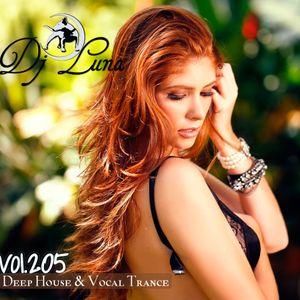 PROGRESSIVE DEEP HOUSE - DJ LUNA - VOL.205