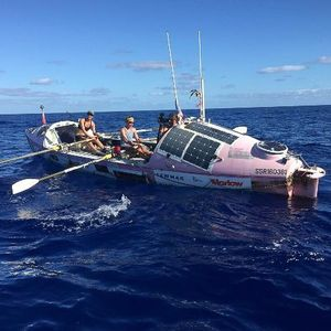 Episode 9 - Meg Dyos and the Coxless Crew Pacific Ocean rowing world record holders