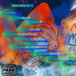 Make Music Chicago '17 - Bang Le' Dex DJ Series - Grant Park:  SPENCE CHICAGO