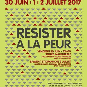 """La Matinale du 28 juin 2017; Les rencontres """"Résister à la peur"""" et retour sur la BD à St Enimie."""