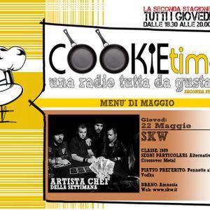 Le cucine del Cookie Time e Mattia Garro, incontrano gli SKW, Artisti Chef su TRS Radio!