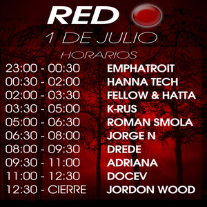 Jordon Wood Pre RED Mix
