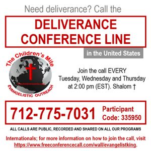 EPISODE 160 - Weekly Deliverance Sessions 11-15-16