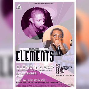 My Set @ Elements / 1 /12/18 / Elements Bar