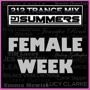 212 Trance Mix Ep 169 (Female Week)