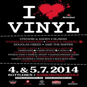 Berk Offset @ I Love Vinyl - Barbarossahöhle Rottleben - 04.07.2014