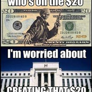 Seeds of Liberty Podcast Episode 59: Harriet Tubman irony on Federal Reserve Note trash