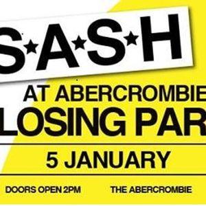 Dave Stuart - The Last SASH At The Abercrombie - 05.01.2014