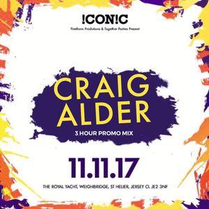 Craig Alder. 3HR !CON!C Promo Mix. Nov 2017