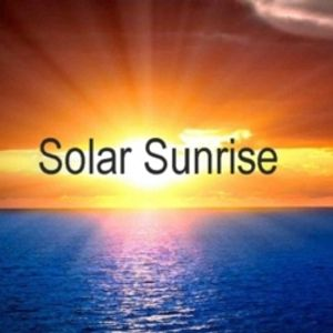 Solar Sunrise with Ian Jons - Wednesday July 13th 2016