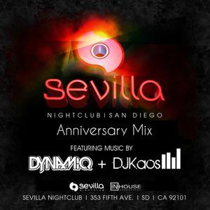 InHouse Management Presents: DJ Kaos x DJ Dynamiq - Sevilla Nightclub Anniversary Mix
