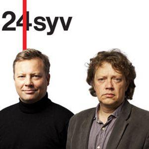 Erik Scavenius med litteraturkritiker Niels Barfoed (1)
