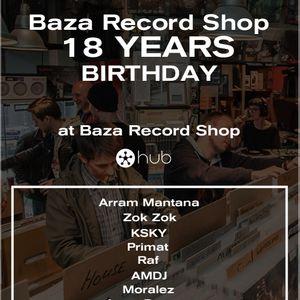 Primat - Baza Record Shop 18 Years Birthday (Exclusive 2 Step/UK Garage set)