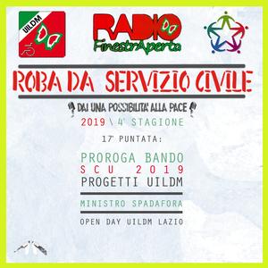Roba da Servizio Civile - Proroga bando SCU, Min. Spadafora, Open Day UILDM Lazio