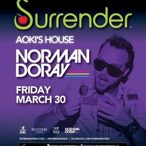 Norman Doray - Live @ Aoki's House Surrender Las Vegas (USA) 2012.03.30.