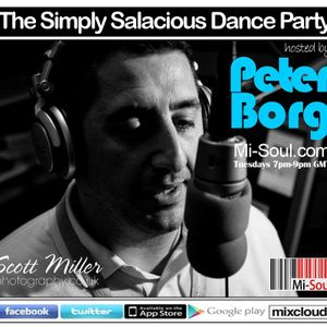 The Simply Salacious Dance Party with Peter Borg August 5th 2014
