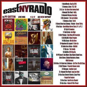 East New York Radio 1-5-17 PF CUTTIN co-host MILLZ MURDA