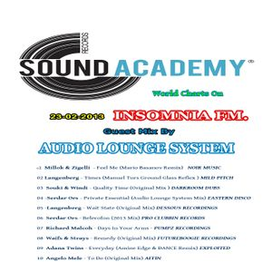 S.A.R. World Charts On Insomnia Fm 23-02-2013 Mix By Audio Lounge System