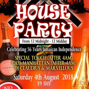 LIVE RECORDING OF HOUSE PARTY 12 TO 12 (SAT 06TH AUG 2018) CD2