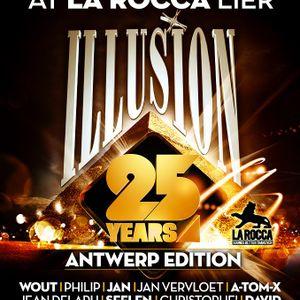 DJ David DM @25 Years Illusion (Backstage La Rocca, 26-01-2013)