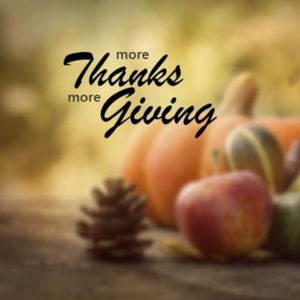 More Thanks, More Giving