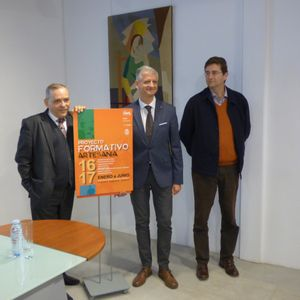 La Orotava. Presentación del Proyecto Formativo Artesanía 2017. 19 de enero