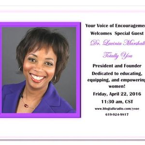 Encouragement With Dr. Lavinia Marshall