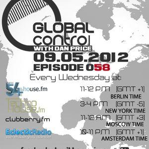 Dan Price - Global Control Episode 058 (09.05.12)
