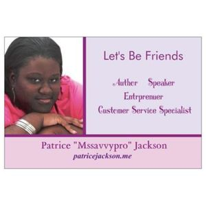 """THE """"MSSAVVYPRO"""" SHOW WITH HOST PATRICE JACKSON"""