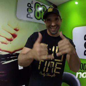 Programa Noite D+ na Radio Pop FM com Renato Silva Rodrigues da CrossFit Crown São Carlos