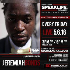 SPEAKLIFE Radio: New Music Friday – Conversation w/ Jeremiah Bonds & Tony Ri'chard [Episode 9]