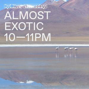 Almost Exotic (21.12.17) w/ Katzele