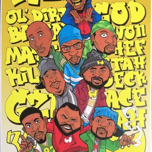 It's a Wu-Tang Thang - Mr Mef, Ghostface, Raekwon, Masta Killa, Cappadonna, Killah Priest, Wu-Tang