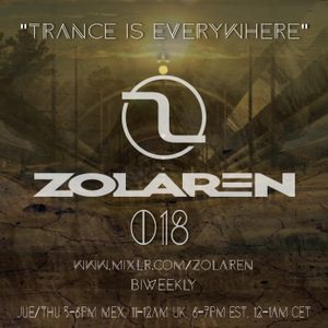 """TRANCE IS EVERYWHERE"" SESSION 018"