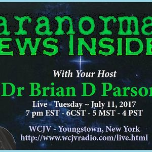 Paranormal News Insider with Dr. Brian Parsons 20170711_321