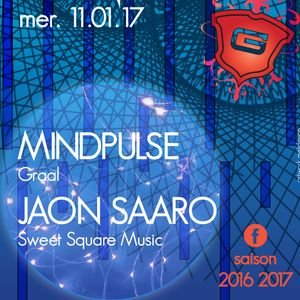 JAON SAARO @ GRAAL CLUB - Val D'Isère-FR - TRANCIFLETTE 2K17 / Live Digital Dj Set