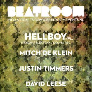 David Leese @ Beatroom, Club Up - Amsterdam (06-01-2017)