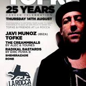 dj Javi Munoz @ La Rocca - 25 Years Tofke 14-08-2014