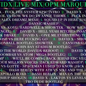 Dj David X - OPM MARQUEE LIVE SET | 22.NOV.12 | THE STAR