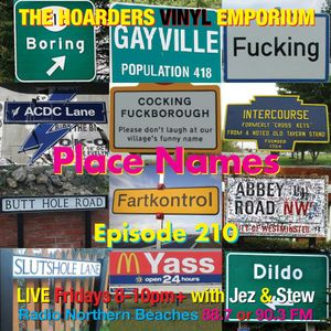 The Hoarders' Vinyl Emporium 210 - 'Place Names'