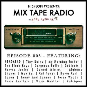Mix Tape Radio on Folk Radio UK | EPISODE 003