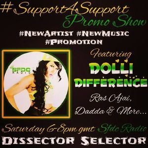 #SUPPORT4SUPPORT #PROMOSHOW ft. DOLLI DIFFERENCE